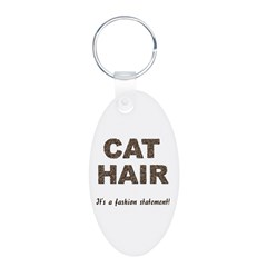 Cat Hair Fashion Keychains