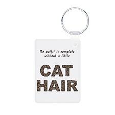 Cat Hair Keychains