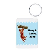 Hang In There, Friday's Comin Keychains