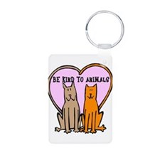 Be Kind To Animals Keychains