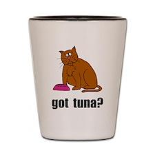 Got Tuna Cat Shot Glass