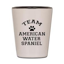 Team Water Spaniel Shot Glass
