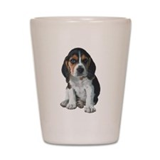 Beagle Shot Glass