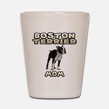 Boston Terrier Mom Shot Glass