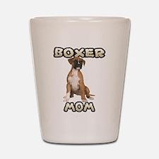 Boxer Mom Shot Glass