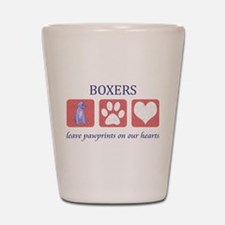 Boxer Lover Gifts Shot Glass