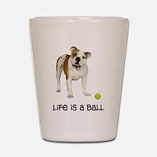 Bulldog Life Shot Glass