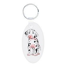 Dalmatian Puppy Cartoon Keychains
