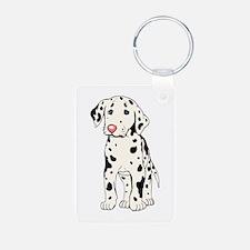Dalmatian Puppy Keychains
