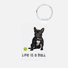 French Bulldog Life Keychains