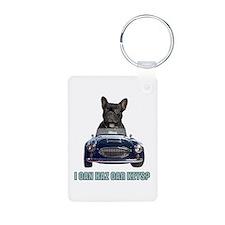 LOL French Bulldog Keychains