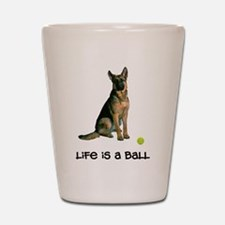 German Shepherd Life Shot Glass