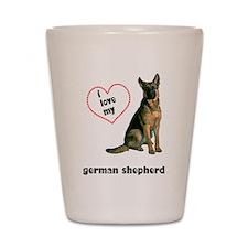 German Shepherd Lover Shot Glass