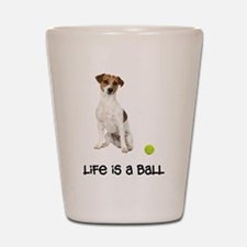 Jack Russell Terrier Life Shot Glass