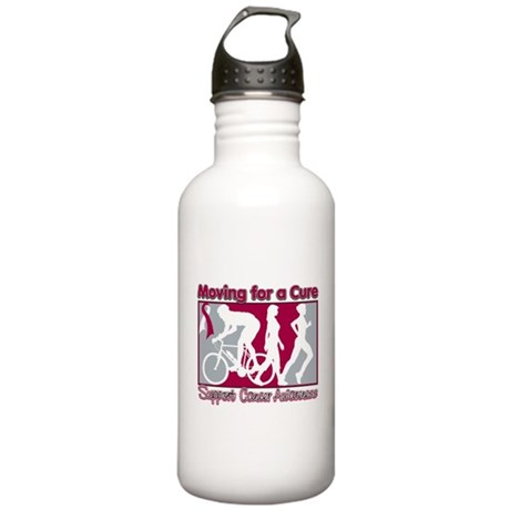 Head Neck Cancer Cure Stainless Water Bottle 1.0L