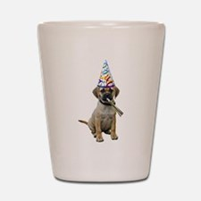 Puggle Party Shot Glass