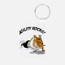 Agility Rocks Keychains