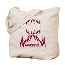 Warrior Head Neck Cancer Tote Bag
