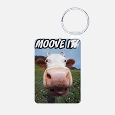 Moove It Cow Keychains
