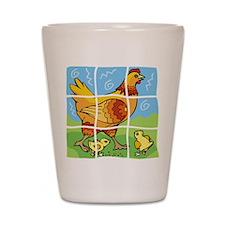 Free-Range Chicken Shot Glass
