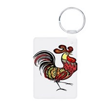 Rooster & Hen Keychains