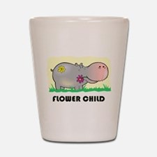 Hippo Flower Child Shot Glass