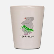 Hippo Hula Shot Glass