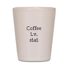 Coffee IV Stat Shot Glass