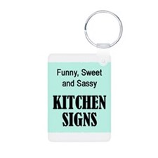 Cute Kitchen sayings Keychains