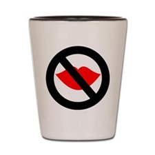 No Kissing The Cook Shot Glass