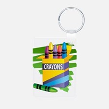 Crayons Keychains