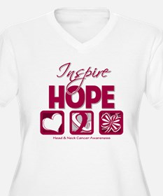 Head Neck Cancer InspireHope T-Shirt