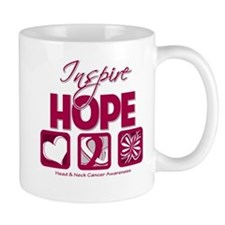 Head Neck Cancer InspireHope Mug
