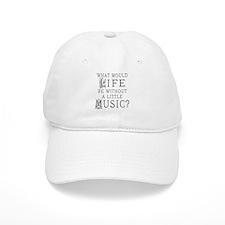 Funny Music Musician Baseball Cap