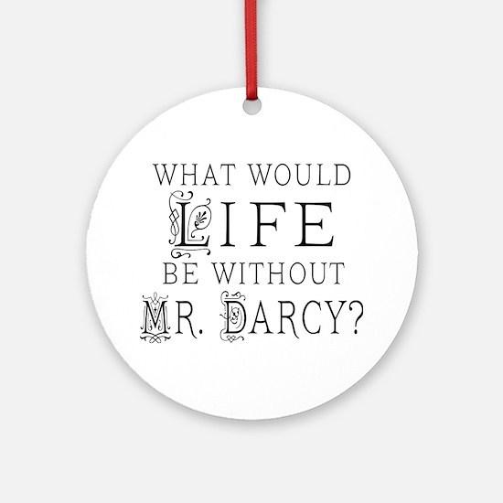 Funny Mr Darcy Ornament (Round)