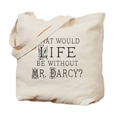 Funny Mr Darcy Tote Bag