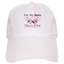 Head Neck Cancer Hero Baseball Cap