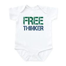 Free Thinker Infant Bodysuit