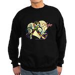 Hope Ribbon Autism Sweatshirt (dark)