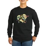 Hope Ribbon Autism Long Sleeve Dark T-Shirt