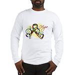 Hope Ribbon Autism Long Sleeve T-Shirt