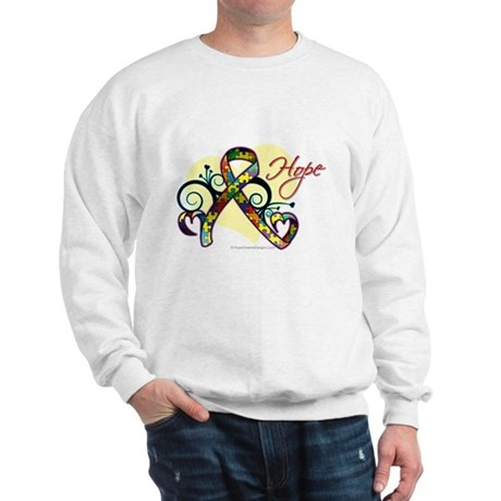 Hope Ribbon Autism Sweatshirt