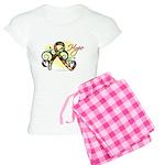 Hope Ribbon Autism Women's Light Pajamas