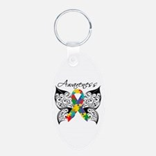 Awareness Butterfly Autism Keychains