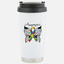 Awareness Butterfly Autism Travel Mug