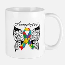 Awareness Butterfly Autism Mug