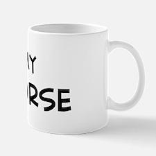 I Love Yili Horse Mug