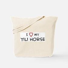 I Love Yili Horse Tote Bag