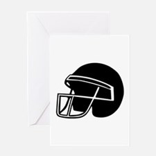 Football - Helmet Greeting Card