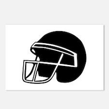 Football - Helmet Postcards (Package of 8)